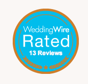 Wedding Wire Rated 13 Reviews