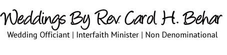 Weddings by Rev. Carol Behar logo